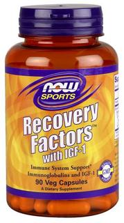 NOW Foods Recovery Factors with IGF-1, 90 Vegi Capsules