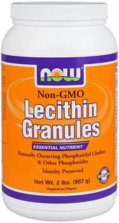 NOW Foods Lecithin Granules Non-GMO, 2 Pounds