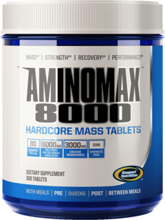 Gaspari Nutrition Amino Max 8000, 350 Tablets