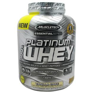 Muscletech 100% Platinum Whey by Muscletech, 5 Pounds