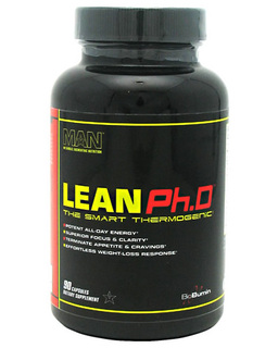 MAN Sports Lean Ph.D, 90 Capsules