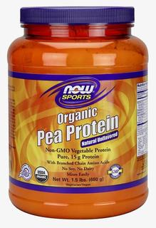 NOW Foods Pea Protein Organic by NOW Foods, 1.5 Pounds