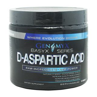 Genomyx D-Aspartic Acid, 60 Servings