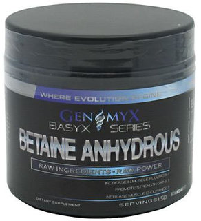 Genomyx Betaine Anhydrous, 50 Servings