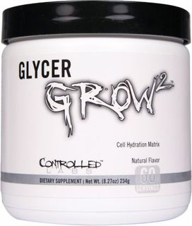 Controlled Labs GLYCERGROW, 60 Servings