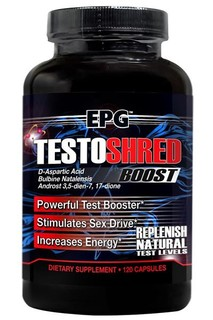 EPG TESTOSHRED, 120 Capsules