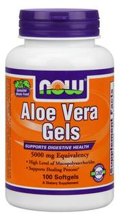 NOW Foods Aloe Vera 5000 mg, 100 Softgels