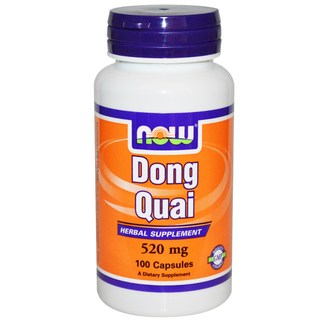 NOW Foods Dong Quai 520 mg, 100 Capsules