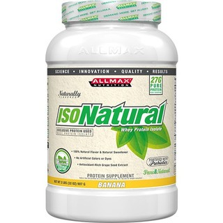 Allmax Nutrition IsoNatural by Allmax Nutrition, 2 Pounds