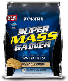 Dymatize Super Mass Gainer, 12 Pounds