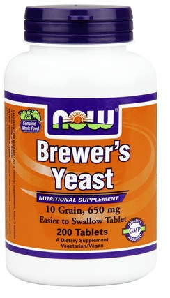 NOW Foods Brewer's Yeast 650 mg by NOW Foods