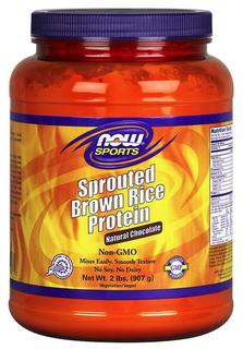 NOW Foods Sprouted Brown Rice Protein, 2 Pounds