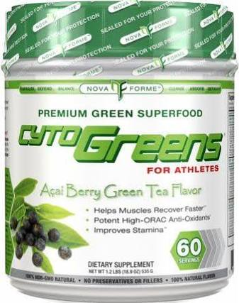 Nova Forme CytoGreens by Allmax Nutrition