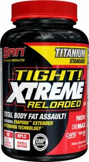 SAN Nutrition Tight! Xtreme Reloaded V3, 120 Capsules