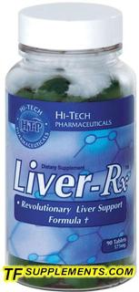 Hi-Tech Pharmaceuticals Liver-Rx, 90 Tablets