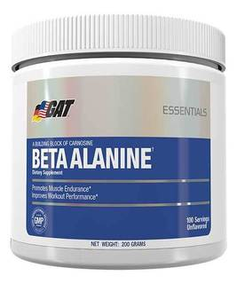 GAT Beta-Alanine, 200 Grams