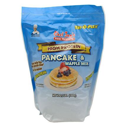 Chef Jay's High Protein Pancake & Waffle Mix by Chef Jay's