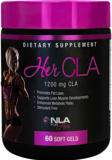 NLA For Her Her CLA, 60 Softgels