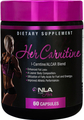 NLA For Her Her Carnitine, 60 Capsules