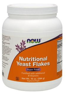 NOW Foods Nutritional Yeast Flakes, 10 Ounces