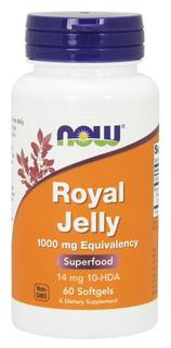 NOW Foods Royal Jelly 1000 mg, 60 Softgels