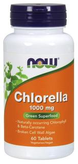 NOW Foods Chlorella 1000 mg. per tablet, 60 Tablets