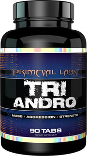 Primeval Labs Tri Andro, 90 Tablets