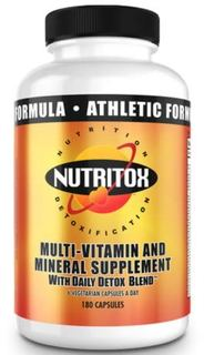 Nutritox Nutrition Athletic Multi-Vitamin, 180 Capsules