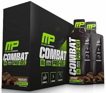 MusclePharm Combat Pro-Gel, 12 Packets