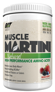 GAT Muscle Martini Natural, 30 Servings