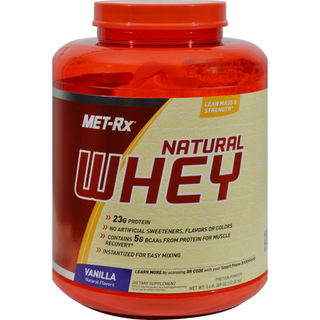 MET-RX Natural Whey, 5 Pounds
