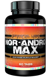 Primeval Labs Nor-Andro Max, 60 Tablets