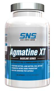 SNS Agmatine XT, 90 Capsules