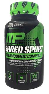 MusclePharm Shred Sport, 60 Capsules