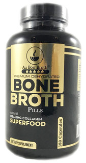 Au Bon Broth Bone Broth Pills, 180 Pills