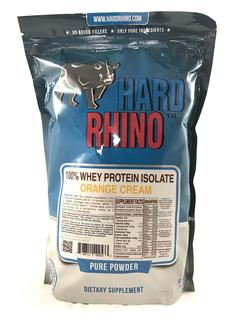 Hard Rhino 100% Whey Protein Isolate