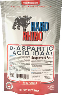 Hard Rhino D-ASPARTIC ACID POWDER