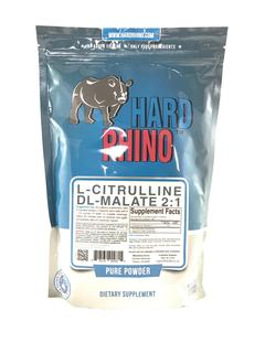 Hard Rhino L-Citrulline DL-Malate 2:1 500g