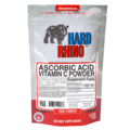 Hard Rhino Ascorbic Acid Vitamin C Powder 125g, Unflavored Flavor