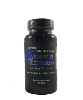 Mass Genetics Muscle Extreme, 90 Capsules