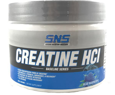 SNS Creatine HCI, 150 Servings