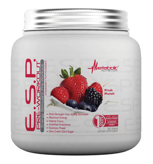 Metabolic Nutrition E.S.P. PRE-WORKOUT, 300 Grams
