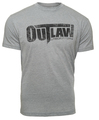 Distressed Logo T-Shirt - Grey