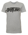 Distressed Logo Women's T-Shirt - Grey