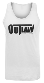 Outlaw Men's Tank Top - white