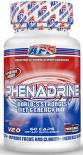 APS Nutrition Phenadrine, 60 Capsules