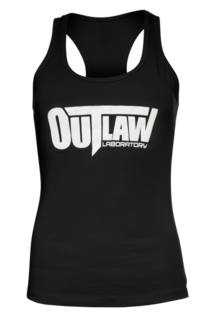 Outlaw Women's Racerback Tank - black, Black Color