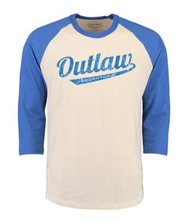 Outlaw Men's Baseball shirt - blue