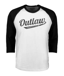 Outlaw Men's Baseball shirt - black