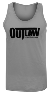 Outlaw Men's Tank Top, grey